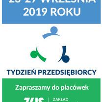 TYDZIEŃ PRZEDSIĘBIORCY w ZUS  rusza rejestracja na bezpłatne seminaria na Podkarpaciu